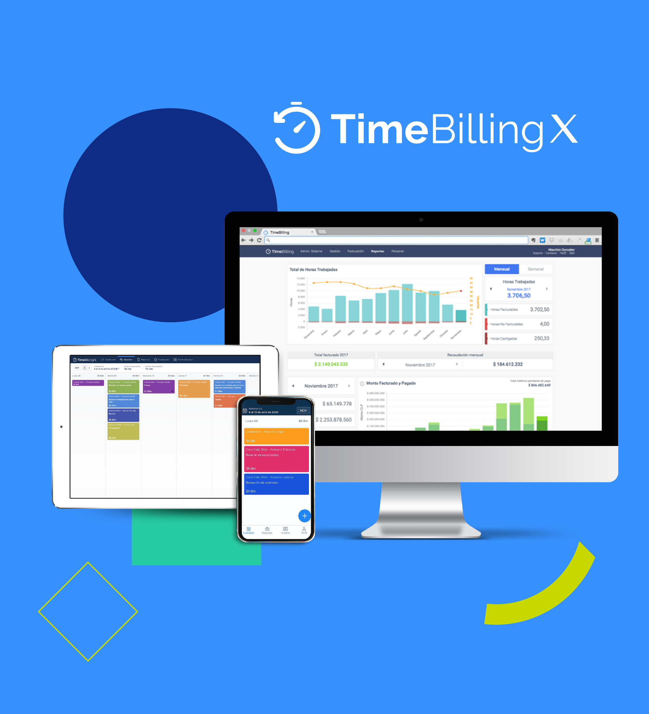 TimeBillingX: guía de herramienta