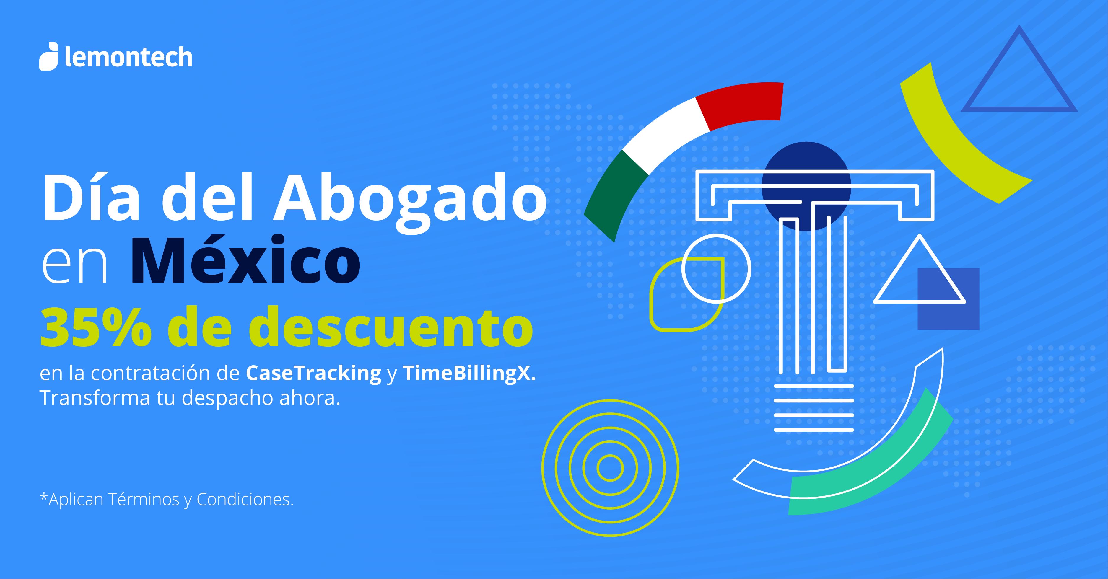 Día del Abogado México: 35% descuento