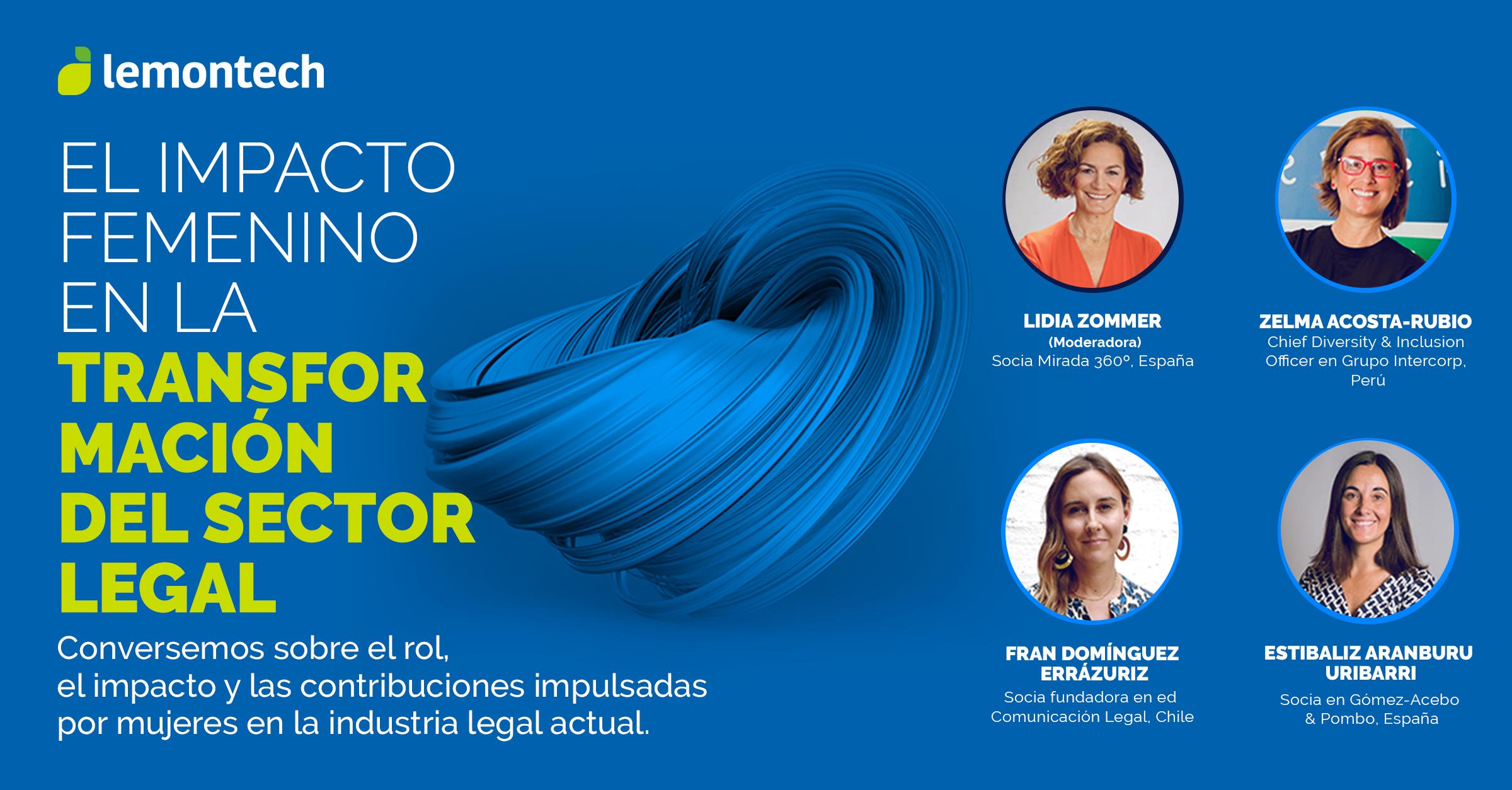 El impacto femenino en la transformación del sector legal