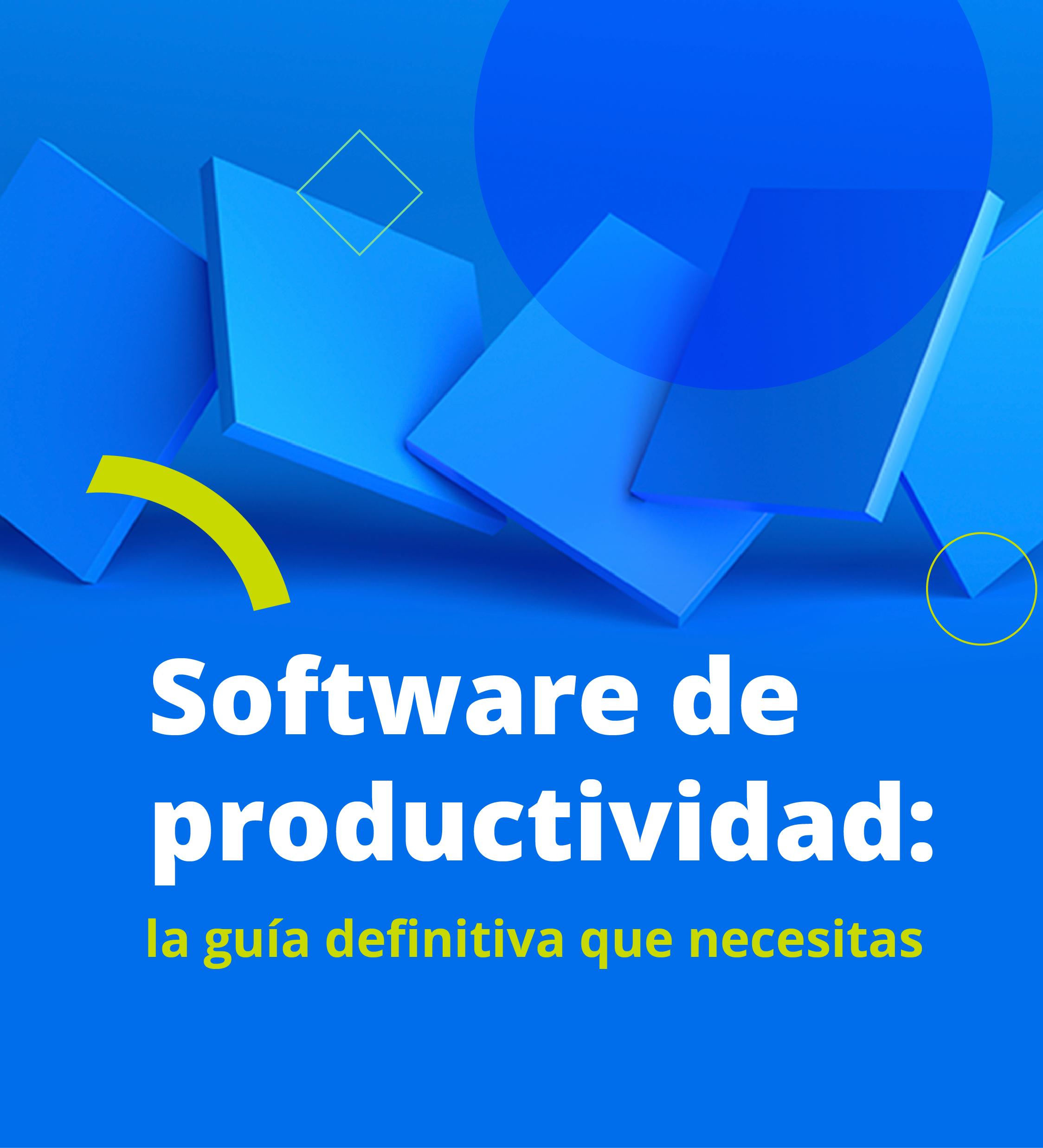 Software de productividad: Guía