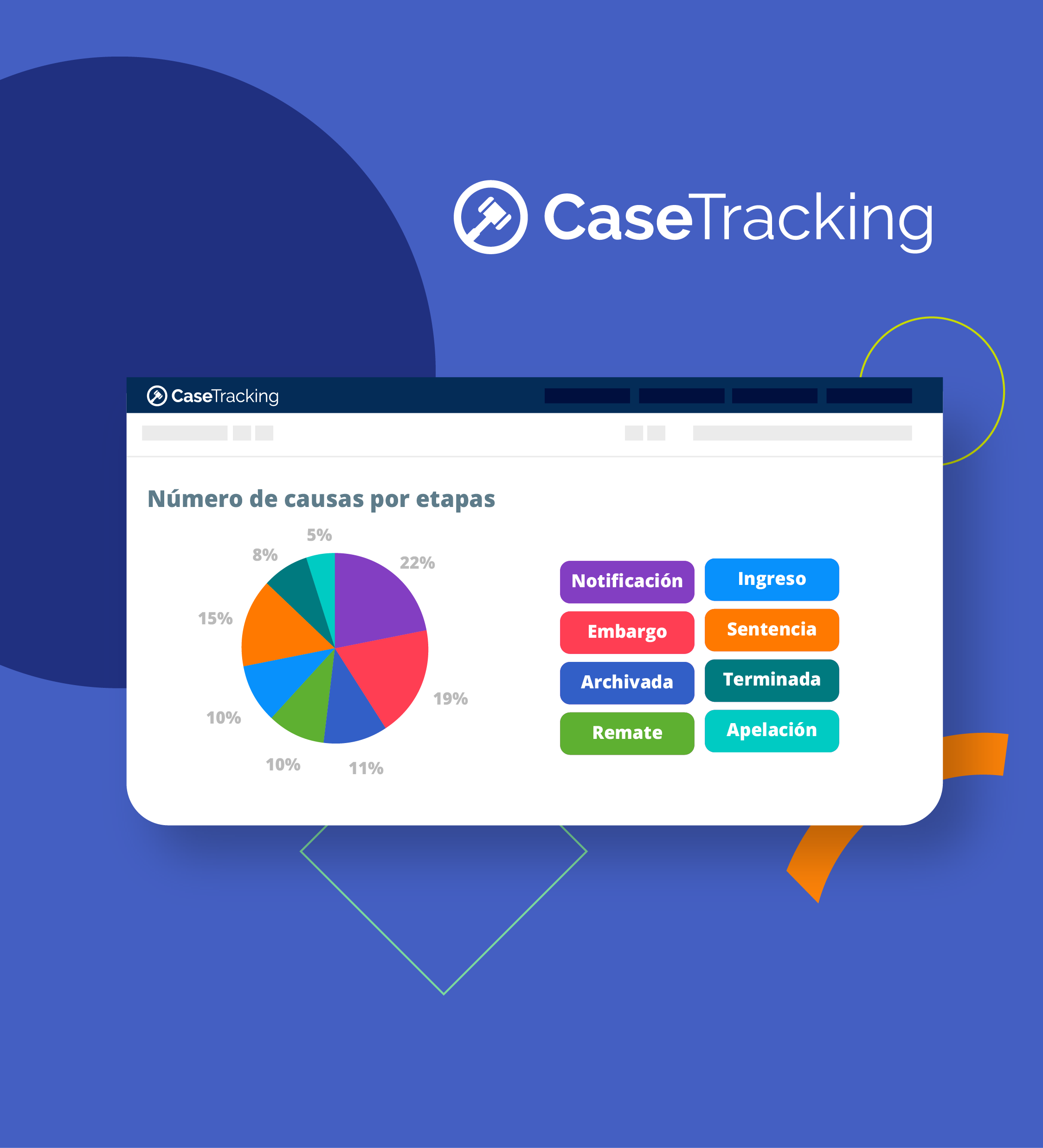 CaseTracking: guía