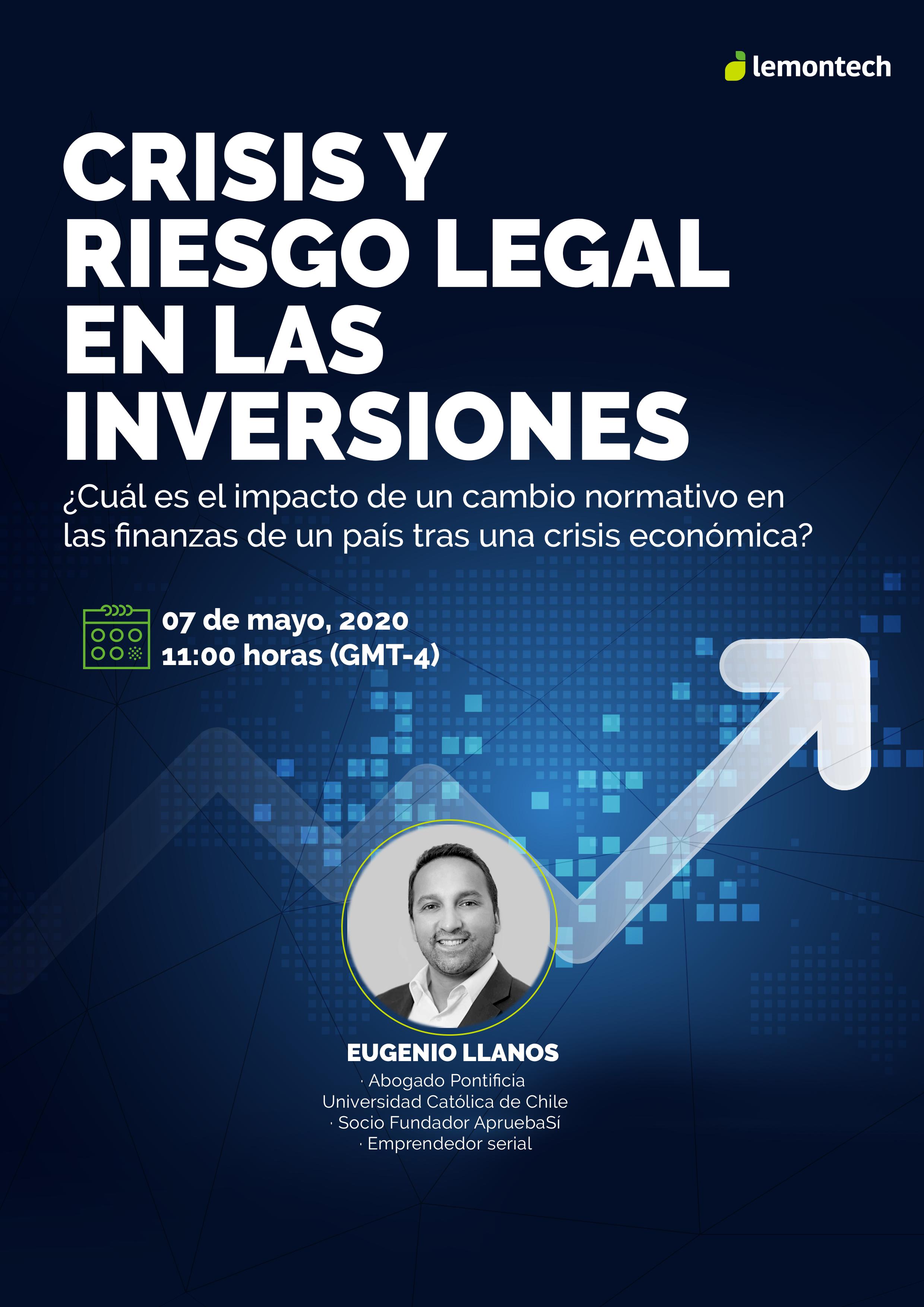Crisis y riesgo legal en las inversiones